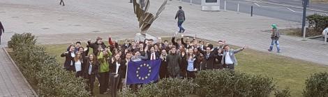 Simulation des Europäischen Parlaments zum Thema Datenschutz (25.01.2017)