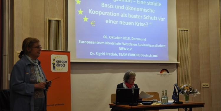 Die Europäische Währungs- und Wirtschaftsunion – Eine stabile Basis und ökonomische Kooperation als bester Schutz vor einer neuen Krise?