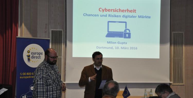 Cybersicherheit - Chancen und Risiken digitaler Märkte (10.03.16)