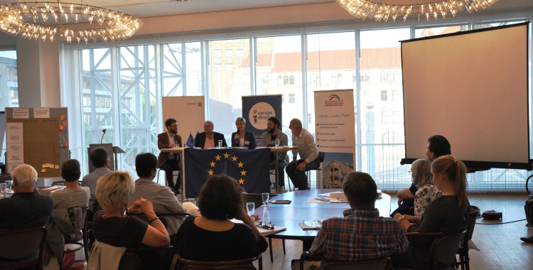 """""""(Miss-)Verständnis Europa"""" – Diskussion zur Zukunft Europas (26.06.2017)"""