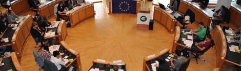 Simulation des Europäischen Parlaments zur EU-Flüchtlingspolitik (21.06.2016)