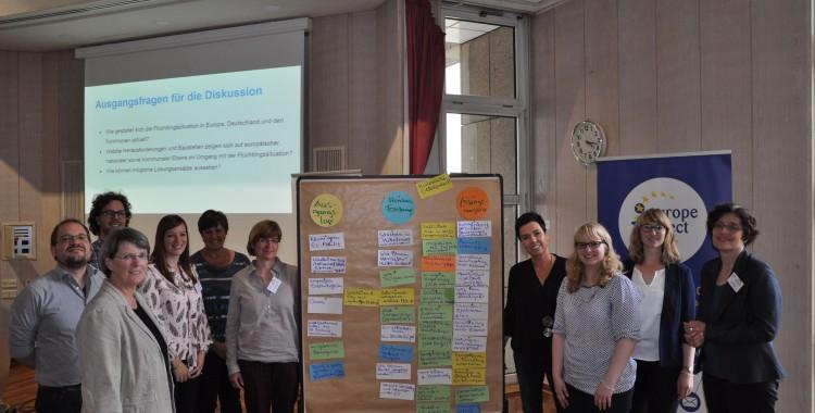 Expertenrunde zu Flucht und Migration in der EU, Deutschland und den Kommunen (21.06.2016)