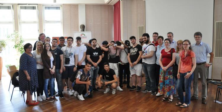"""Schülerworkshop """"Willkommenskultur in Dortmund"""" (23.06.2016)"""