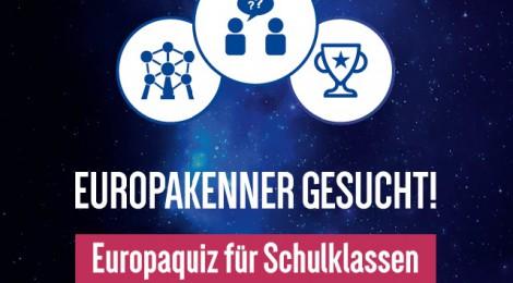 Sie stehen fest – die Teilnehmer*innen unseres Europaquiz!