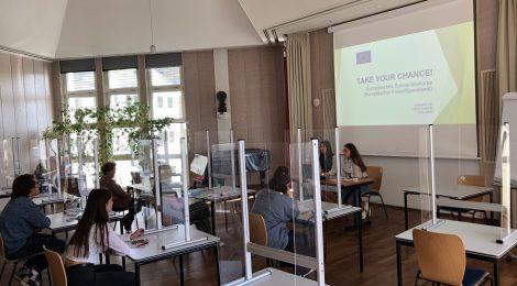 Take your chance! Infoveranstaltung Europäischer Freiwilligendienst 31.08.2020