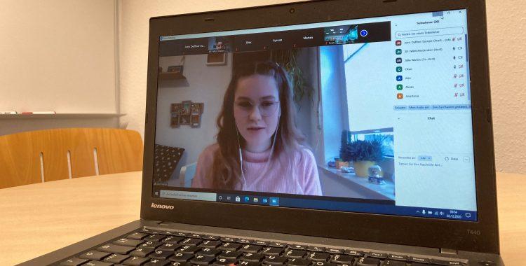 Zukunftswerkstatt für Jugendliche zum ersten Mal online durchgeführt! (03.12.2020)