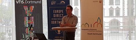"VHS-Themenreihe ""Europa konkret"": Europa 24/7 – Die EU im Alltag (06.05.2019)"