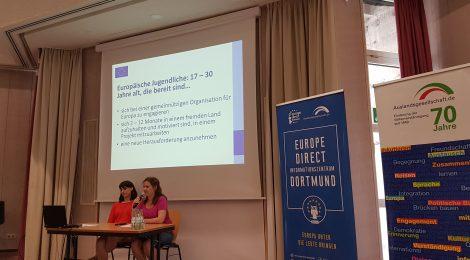 2019_07_01 Take your chance! Europäischer Freiwilligendienst