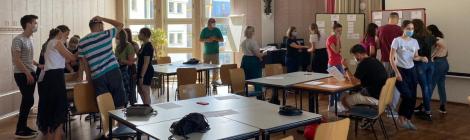 Stadtrallye mit der Noah-Kirchengemeinde: Zum ersten Mal auf Englisch! (12.08.2021)