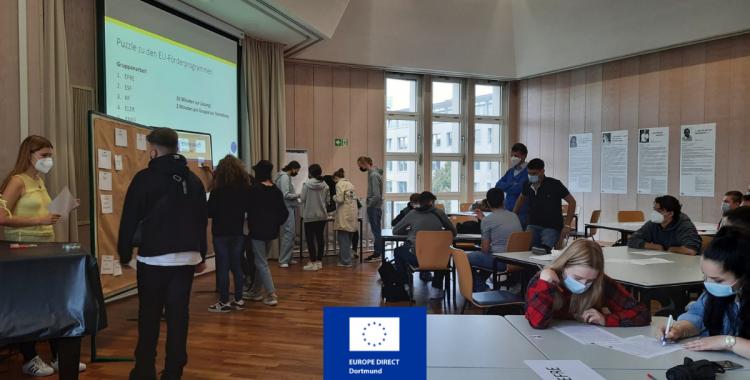 Die EU vor der Haustür: Stadtrallye mit dem Konrad-Klepping-Berufskolleg (15.09.2021)