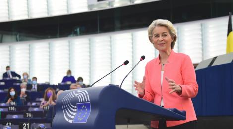"""""""Die Seele unserer Union stärken"""": Rede zur Lage der Union 2021"""