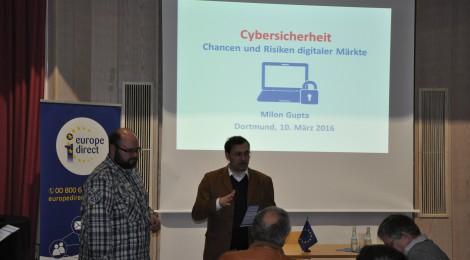 Cybersicherheit - Chancen und Risiken digitaler Märkte (10.03.2016)
