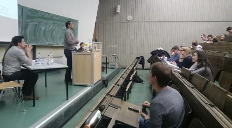Braucht die Eurozone einen eigenen Finanzminister und ein eigenes Budget? NRW debattiert Europa (08.01.2018)