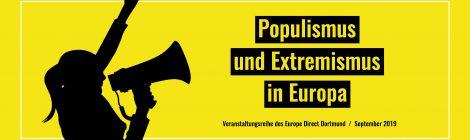 Banner Europa-Projektwochen 2019